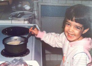 The kitchen has always been my happy place.