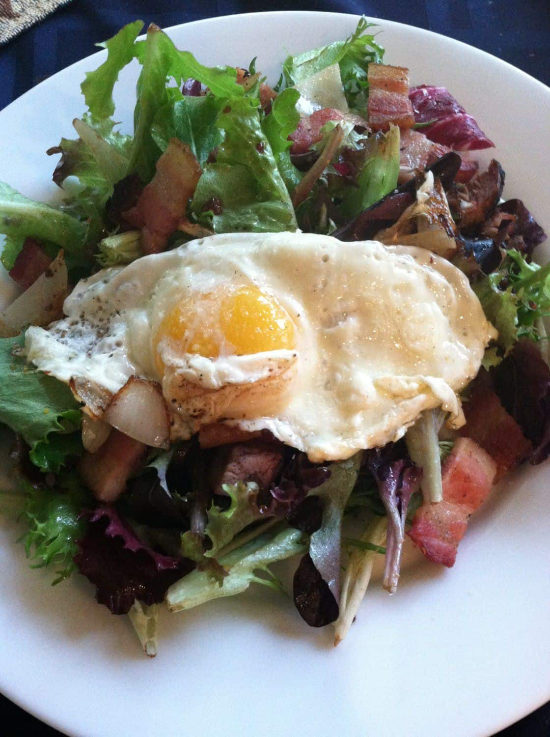 Breakfast Salad by the Goodie Godmother