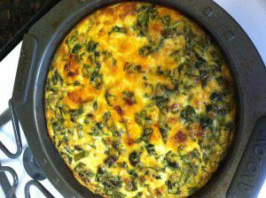 Manchego, Chorizo and Spinach Quiche * Goodie Godmother