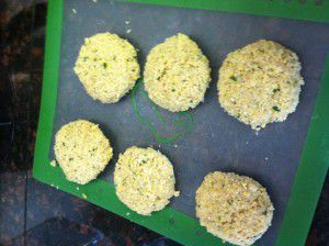 Homemade Falafel Patties