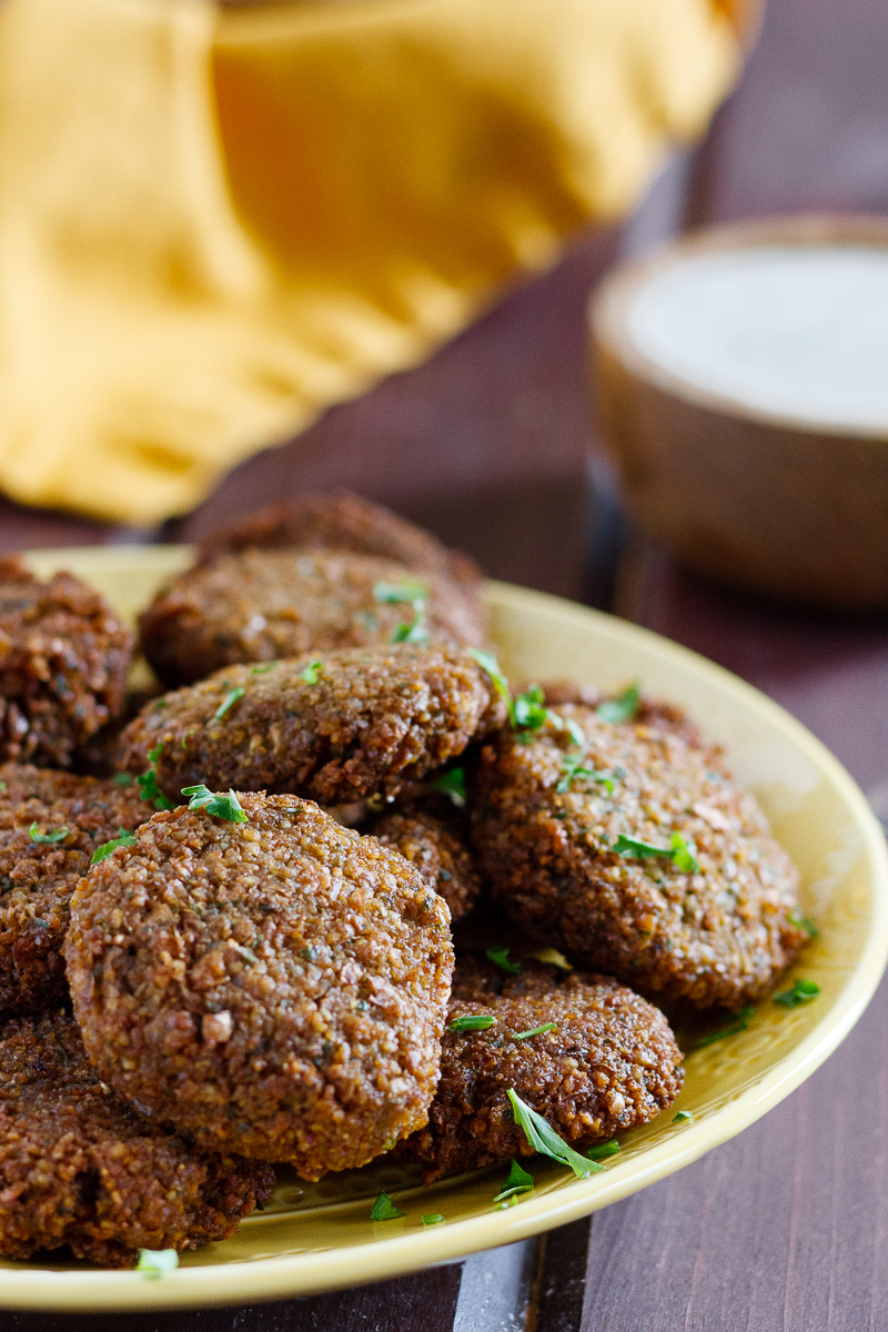 homemade falafel on a plate