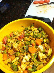 Thai Curry Cashew Bake
