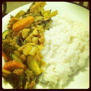 Thai Curry Vegetable Bake