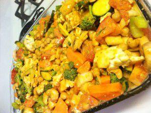 Thai Curry Vegetable Bake (vegan)