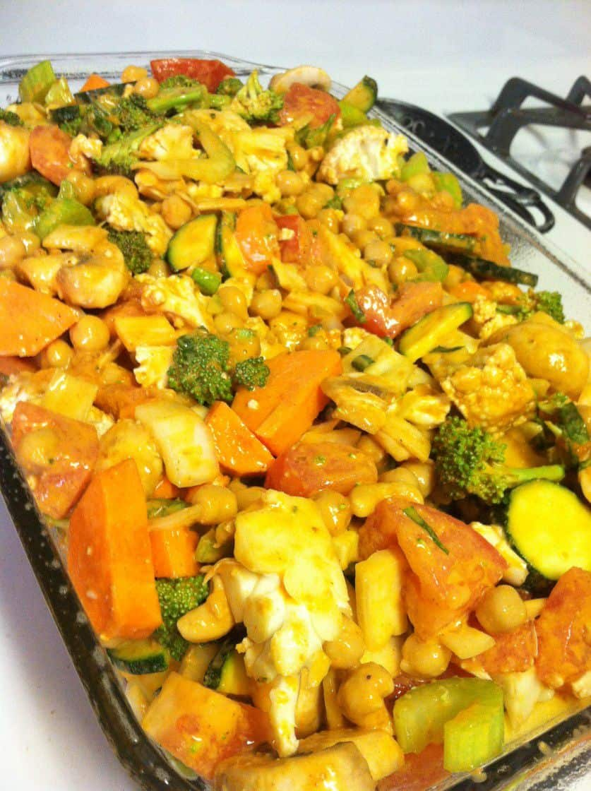 how to cook vegetable bake