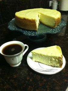 Cheesecake and Coffee