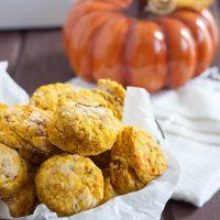 Savory Pumpkin Biscuits