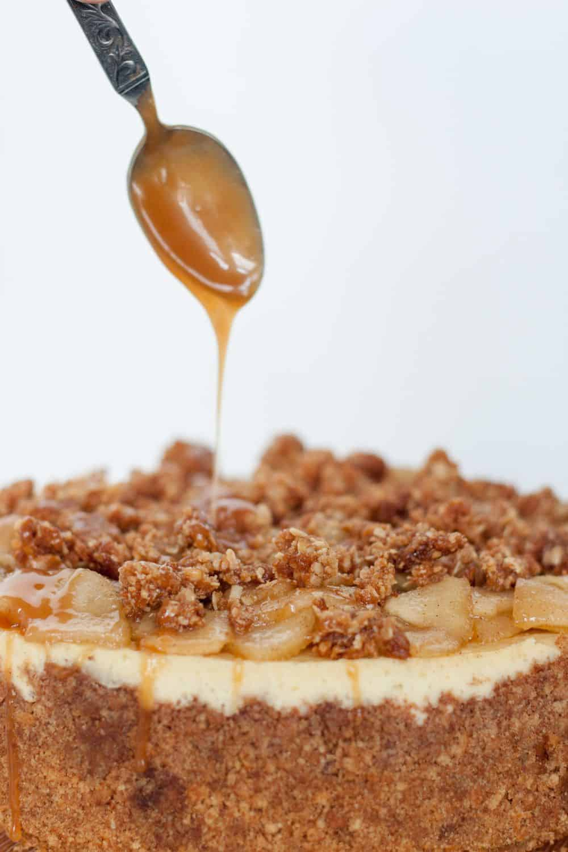 Caramel Apple Cheesecake (1 of 2)