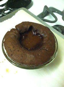 lava cake baked