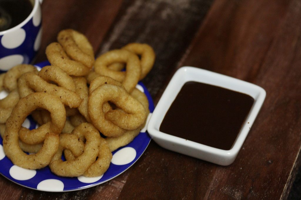 Churros y chocolate recipe on Goodie Godmother