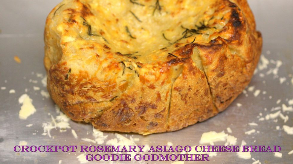 Rosemary Asiago Cheese In The CROCKPOT! (Seriously)