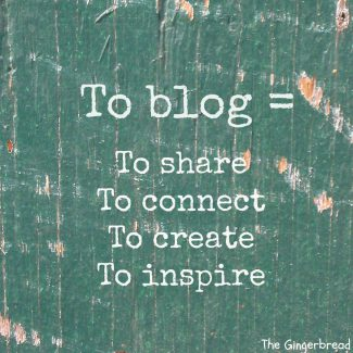 Starting a Food Blog