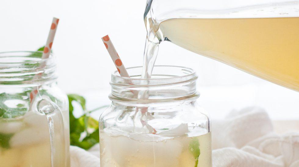 Marvelous Mint Lemonade