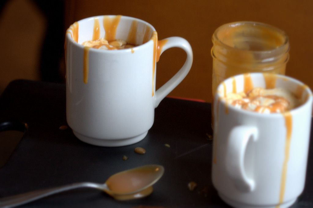 Homemade Caramel Latte Recipe by Goodie Godmother