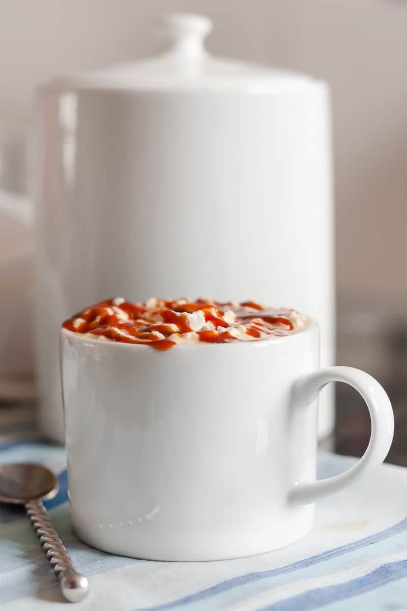 A quick tutorial on how to make a homemade caramel latte without a store bought syrup or milk frother. Homemade lattes are a great way to save a bit by cutting down on coffee house visits. * GoodieGodmother.com