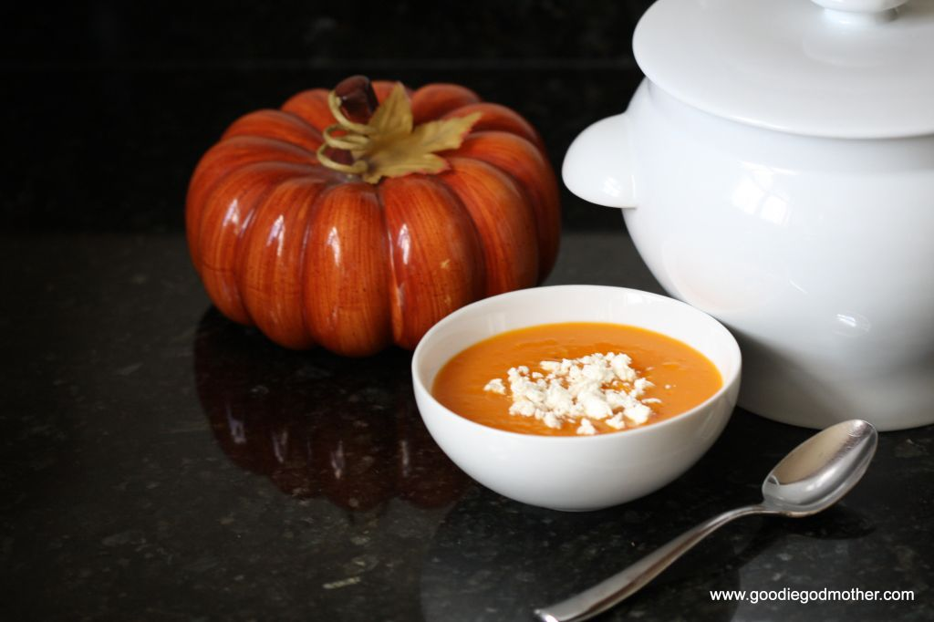 Saffron Butternut Squash Pumpkin Soup