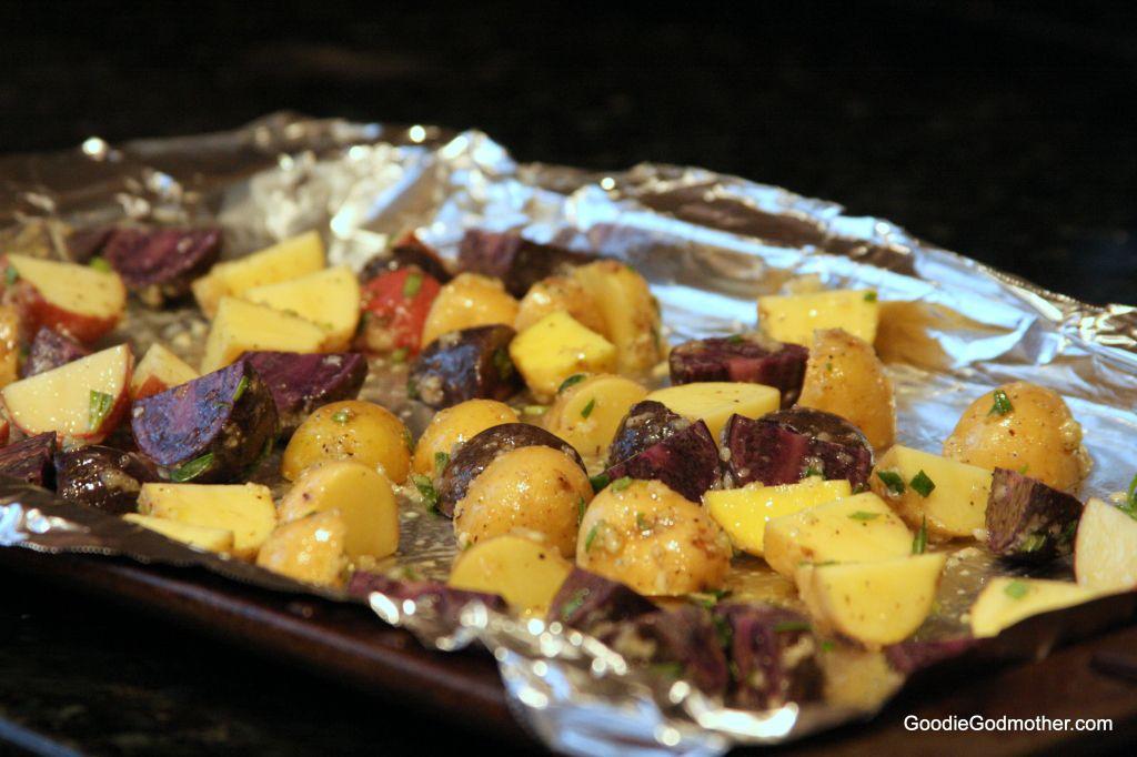 Clean eating roast potatoes