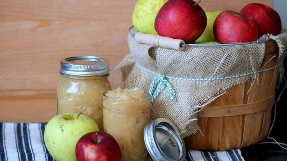 Crock-Pot Applesauce (No Sugar Added)