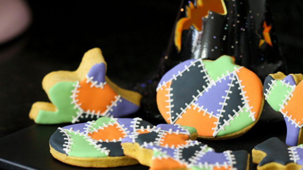 "Pumpkin Sugar Cookie Dough & A ""Frankenstein"" Inspired Decorating Tutorial {Video}"