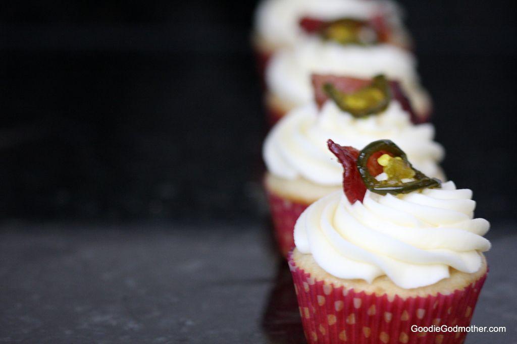 Pretty Cupcakes all in a row