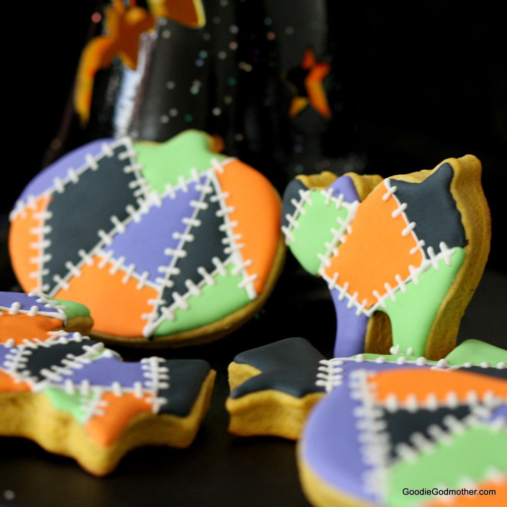 Pumpkin Sugar Cookie Recipe and Video Tutorial on Goodie Godmother
