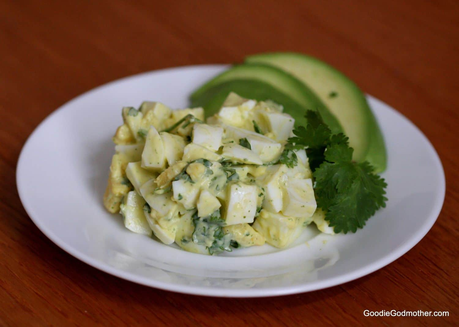 Cilantro Lime Egg Salad Clean Eating