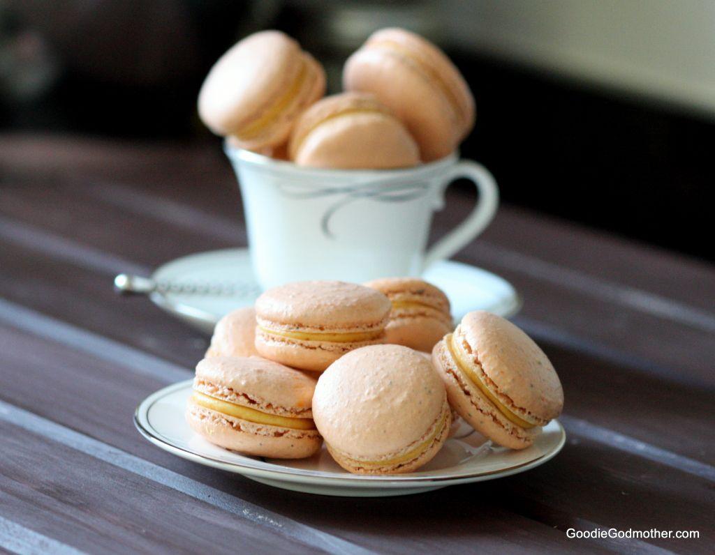 Pumpkin Chai Tea Macaron Recipe