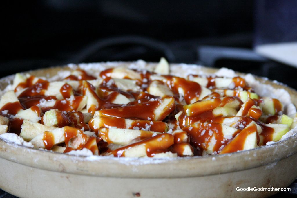 Salted Caramel Apple Pie Filling