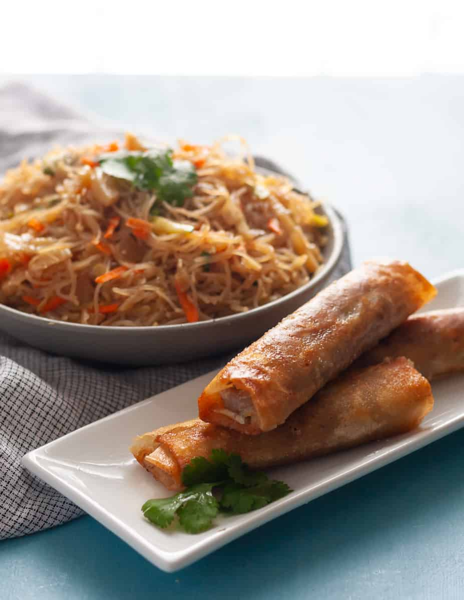 Think global flavors for your leftover Thanksgiving turkey! No one complains about leftovers in this house when I make turkey lumpia. * Recipe on GoodieGodmother.com