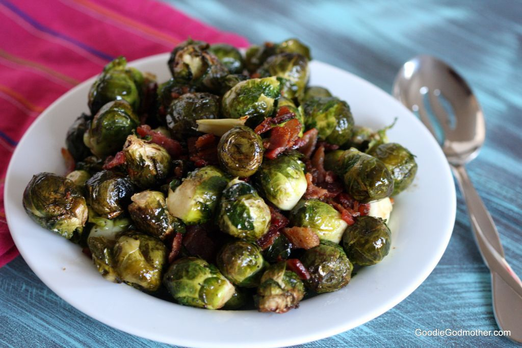 Bacon Balsamic Brussels Sprouts Recipe
