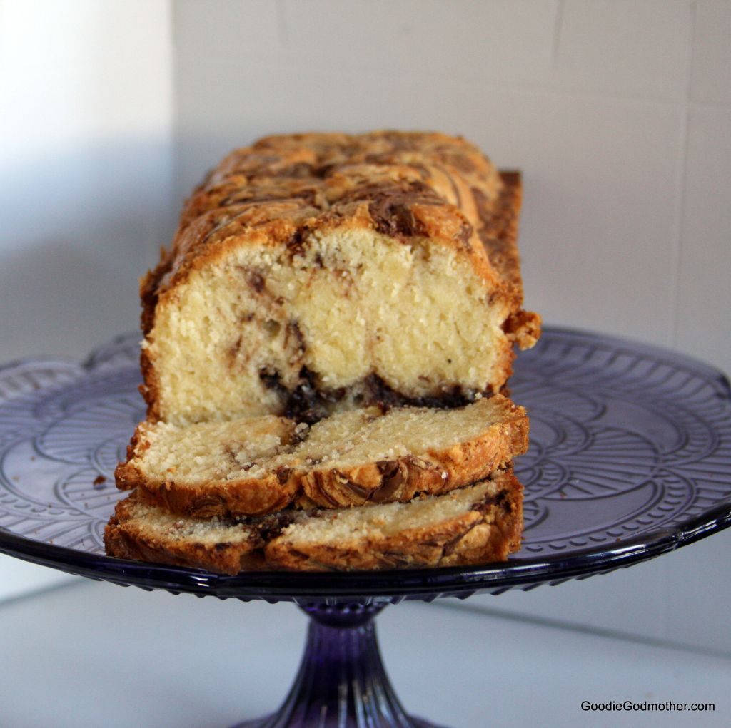 Chocolate Hazelnut Spread Pound Cake
