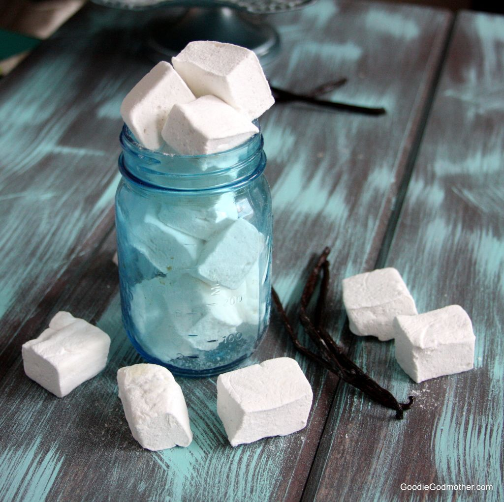 Homemade vanilla bean marshmallow recipe