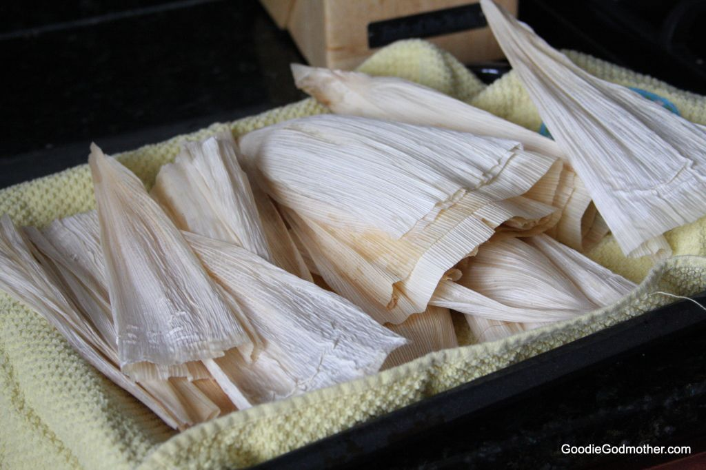 Husks for tamales