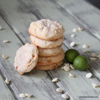 White Chocolate Macadamia Key Lime Cookies