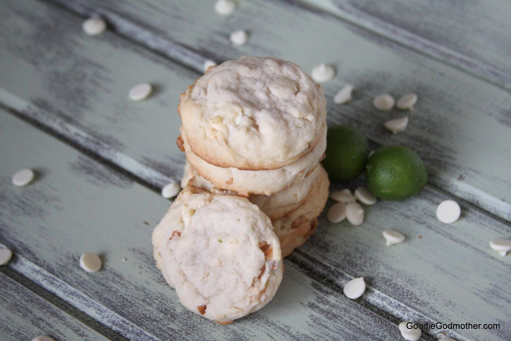 Key Lime White Chocolate Macadamia Nut Cookie Recipe