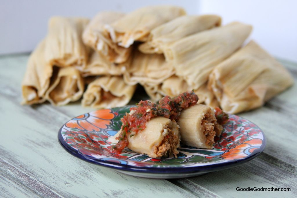 Pork Tamale Recipe on Goodie Godmother