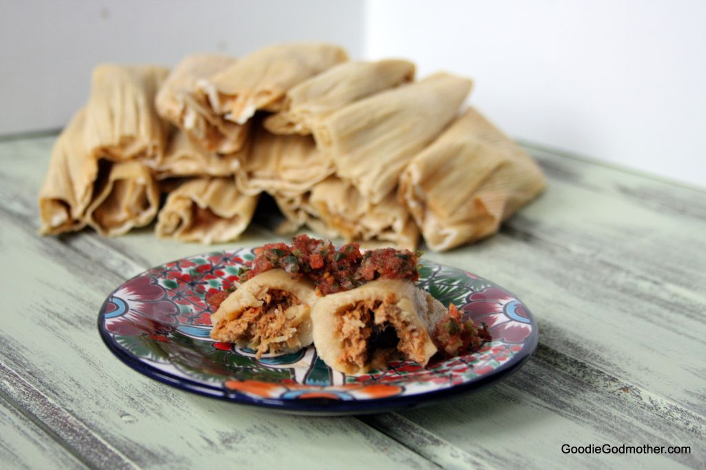 Pork Tamales with Olives