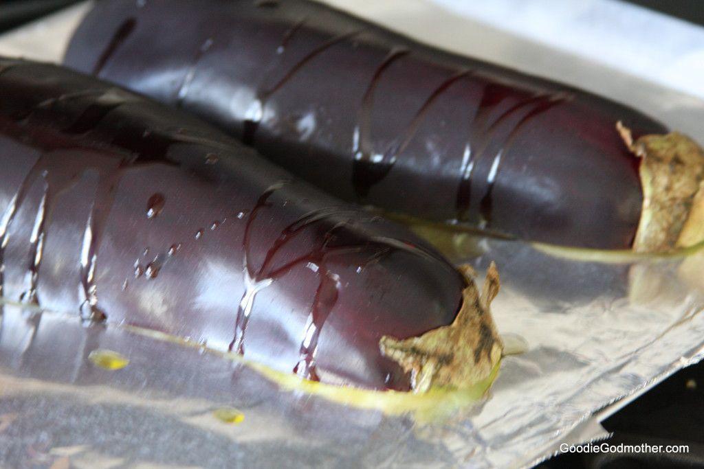 Roast Eggplant Baba Ganoush