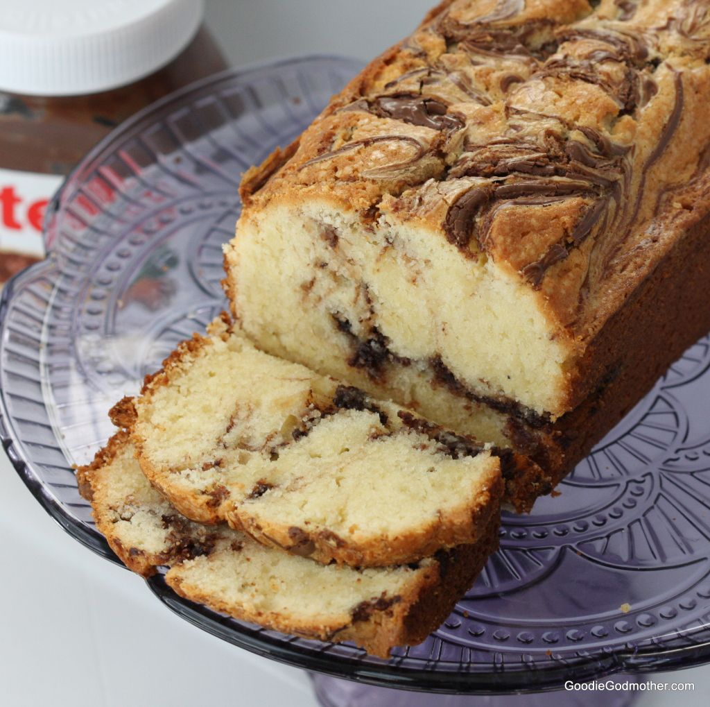 The Best Nutella Swirl Pound Cake Recipe