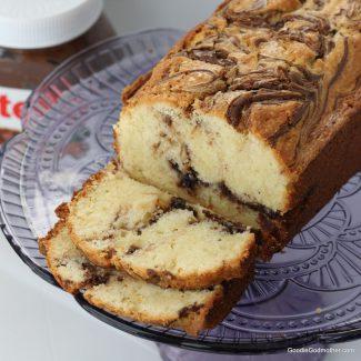 The Best Nutella Swirl Pound Cake Recipe