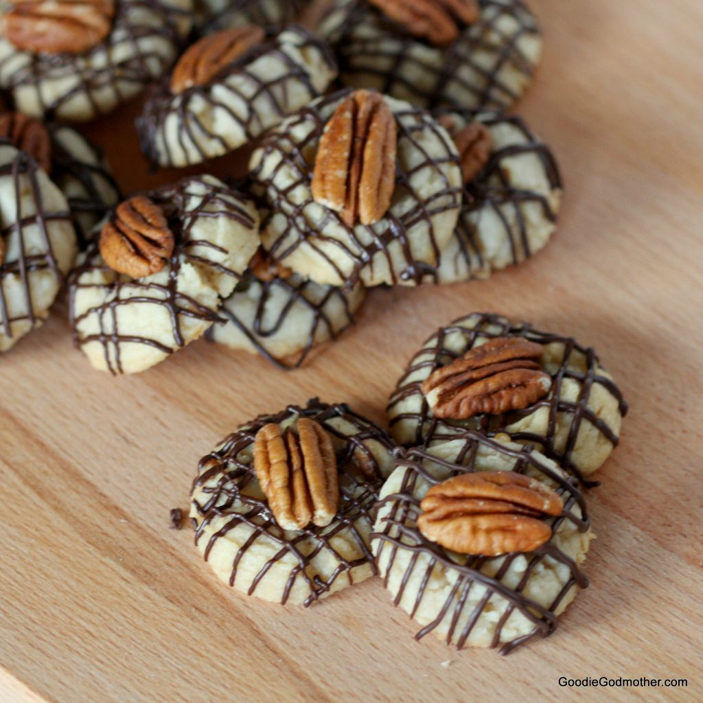 Turtle Thumbprint Cookie Recipe by Goodie Godmother