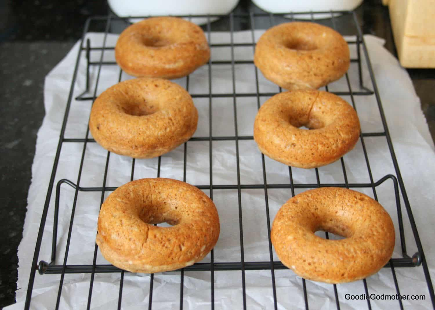Gingerbread Baked Doughnuts - Goodie Godmother - A Recipe ...