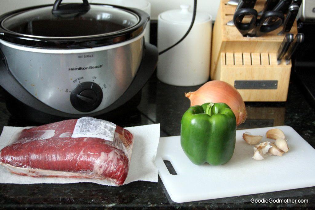 Clean Eating Ropa Vieja Ingredients