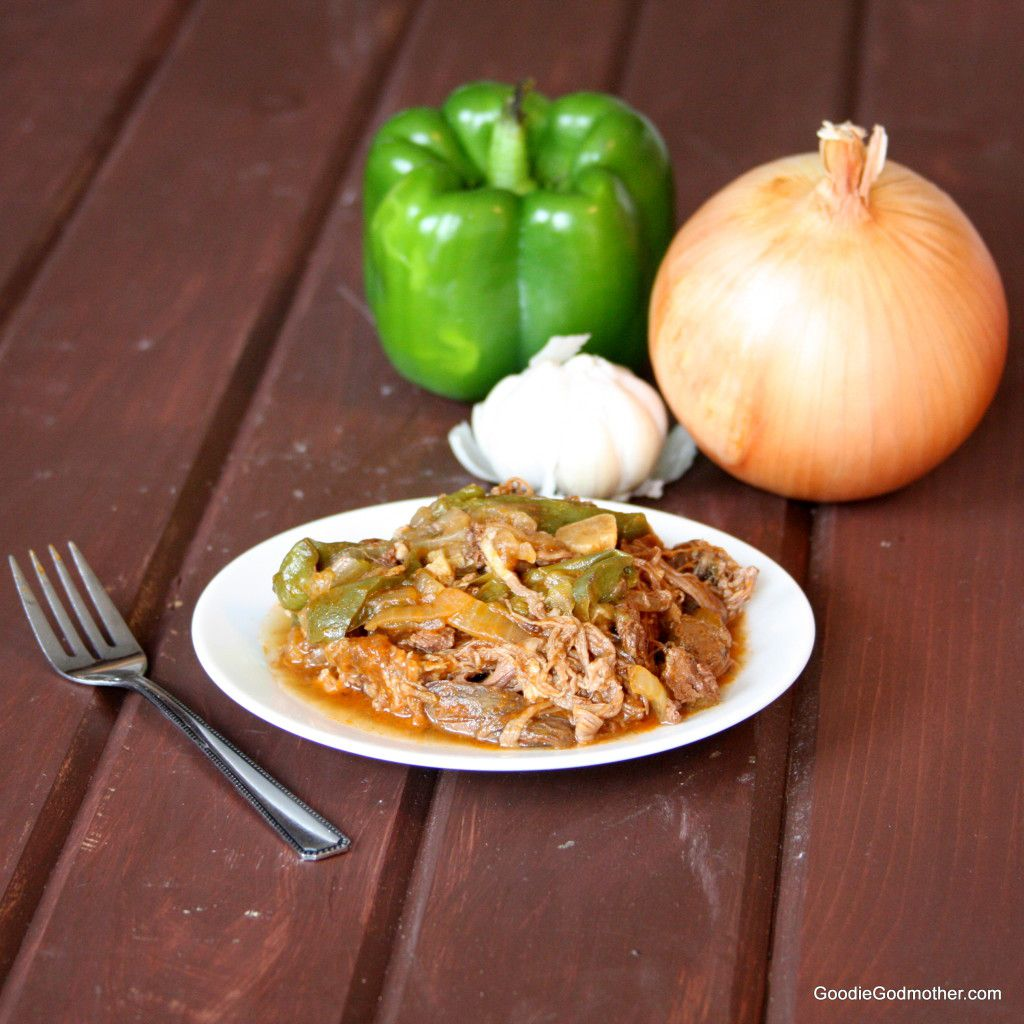 Clean Eating Ropa Vieja in the Slow Cooker