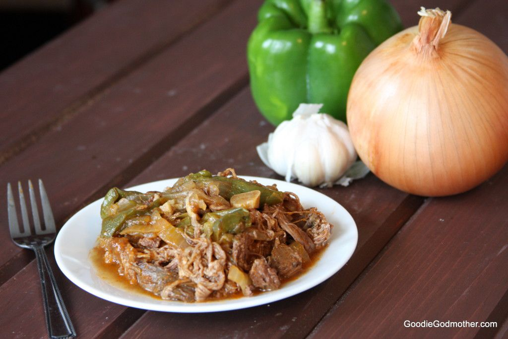 Crock pot ropa vieja from scratch
