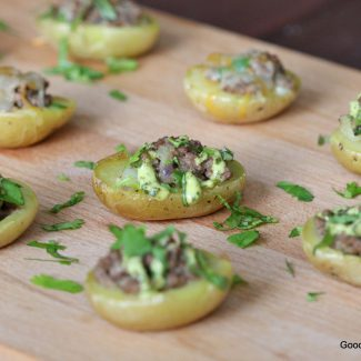 Football Food! Beef Potato Bites {Whole30 Friendly}