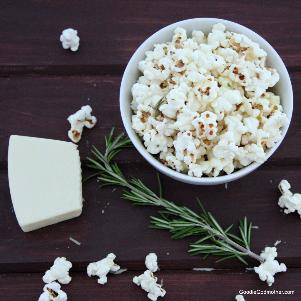 Rosemary Asiago Popcorn
