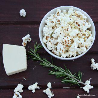 Rosemary Asiago Popcorn