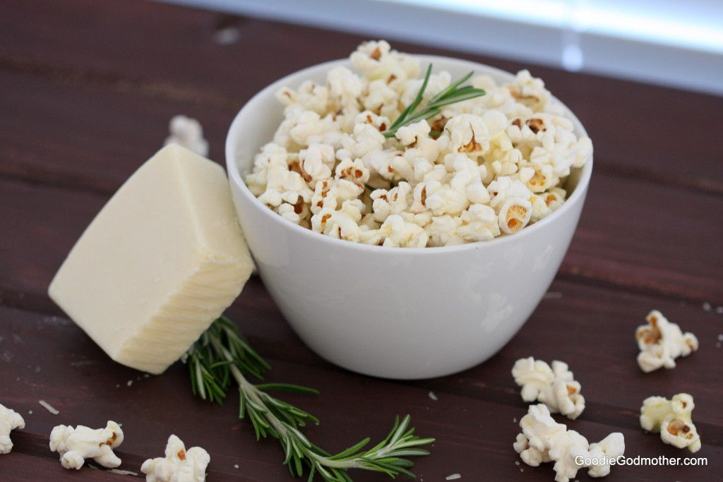 Rosemary Asiago Popcorn Recipe