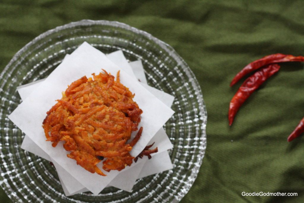 Sweet Potato Latke Recipe with Chipotle Chile
